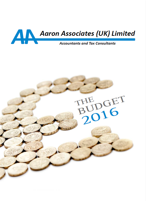 Aaron Associates Budget 2016-2017 Tax, UK, Accounting